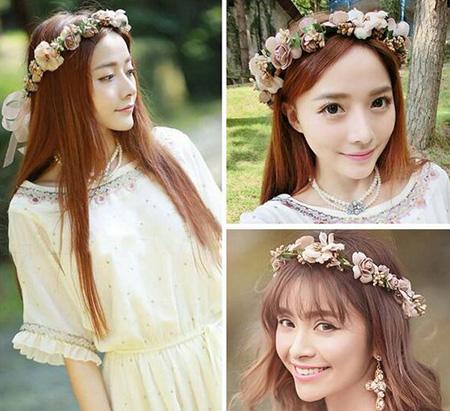 تاج گل عروس, مدل تاج گل عروس