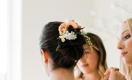 مدل حلقه های گل نامزدی,مدل تاج گل عروس