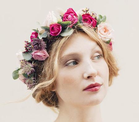 مدل تاج عروس با گل, مدل های تاج گل های عروس
