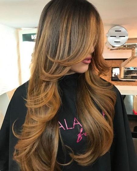 مدل موی لیر برای موی کوتاه و بلند, مدل موی لیر,مدل موی لایه ای بلند
