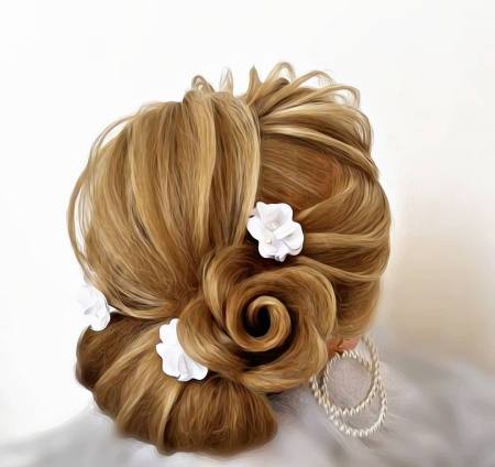 آموزش شینیون کاغذی,شینیون موی کاغذی,شینیون کاغذی عروس