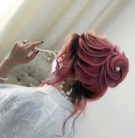 آموزش شینیون کاغذی,شینیون کاغذی عروس,مدل شینیون کاغذی