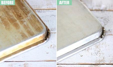 راههای تمیز کردن قابلمه, موثرترین راههای تمیز کردن ظروف پخت و پز