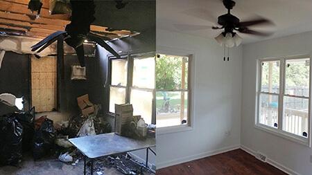 تکنیک های تمیز کردن خانه پس از آتش سوزی, راه و روش تمیز کردن خانه بعد از آتش سوزی, طرز تمیز کردن خانه پس از آتش سوزی
