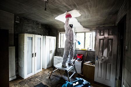 مراحل تمیز کردن خانه بعد از آتش سوزی, روش تمیز کردن خانه بعد از آتش سوزی, مهارت های تمیز کردن خانه بعد از آتش سوزی