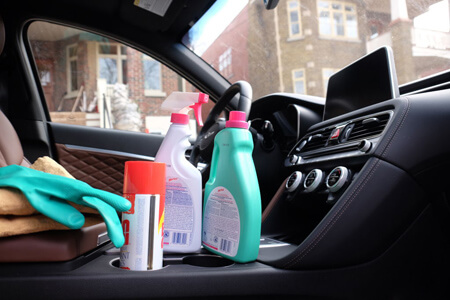 تمیز کردن فضای داخلی اتومبیل, روش تمیز کردن داخل خودرو, راهنمای تمیز کردن داخل خودرو