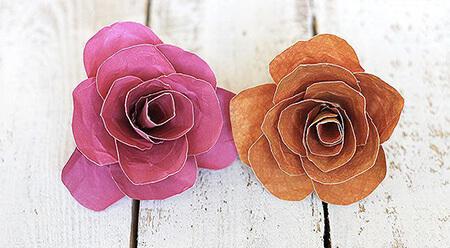 روش های ساخت گل کاغذی, نحوه ی ساخت گل کاغذی