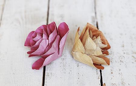 ساخت انواع گل های کاغذی,طرز درست کردن گل های کاغذی