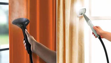 طرز شستن پرده با بخارشوی, نکاتی برای شستن پرده با بخارشوی