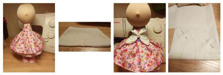 آموزش تصویری ساخت عروسک روسی, مراحل درست کردن عروسک روسی