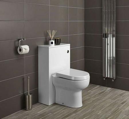 توالت فرنگی های دیواری, توالت فرنگی های کم جا