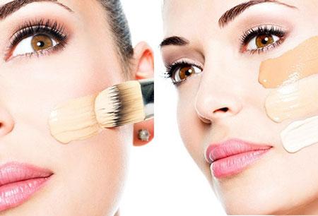 ارایش مناسب پوست سرد, ارایش مناسب پوست های گندمی, روش های ارایش پوست روشن