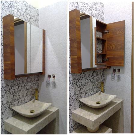 آینه دستشویی سلطنتی, آینه دستشویی ساده