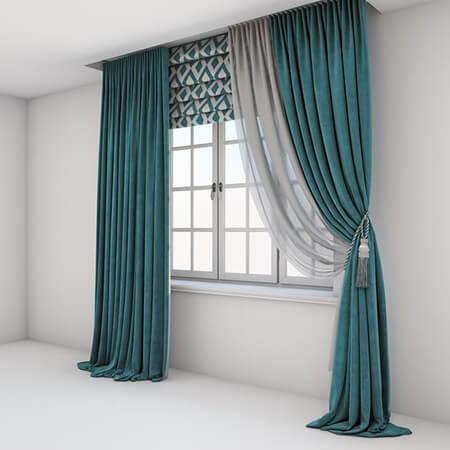 پرده اتاق خواب عروس,مدل ساده پرده اتاق خواب