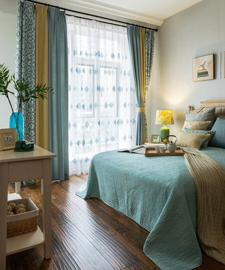 طراحی پرده اتاق خواب,ایده هایی برای پرده اتاق خواب