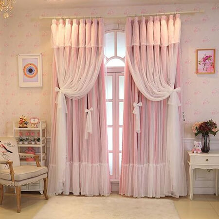 پرده اتاق خواب عروس,مدل پرده اتاق خواب