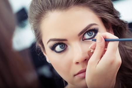 آموزش آرایش چشم درشت, آموزش کامل آرایش چشم درشت, آرایش چشم برجسته و درشت