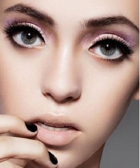 آرایش چشم درشت, آموزش آرایش چشم درشت, آموزش کامل آرایش چشم درشت