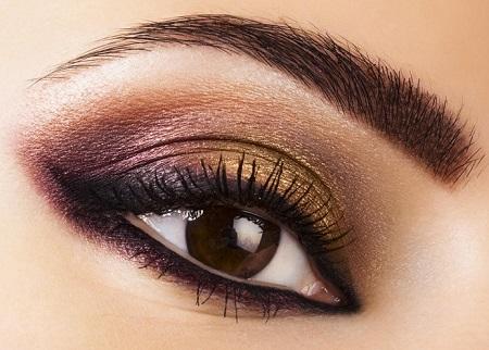 آرایش چشم درشت مشکی, آرایش چشم درشت و برجسته, آرایش چشم درشت دخترانه