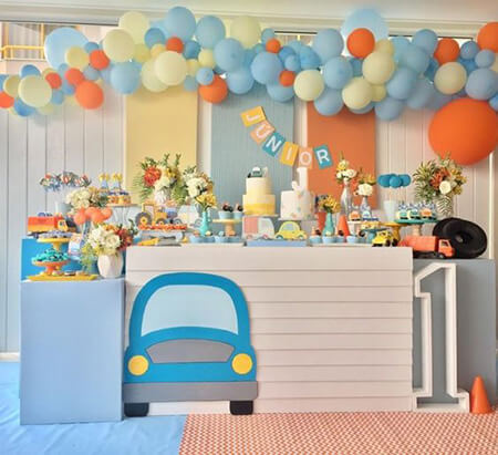 boy2 birthday2 theme14 ایده هایی برای تم تولد پسرانه