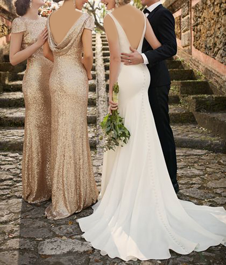 bride2 groom1 dress up1 ساقدوش عروس و داماد کیست؟ + مدل لباس ساقدوش عروس و داماد