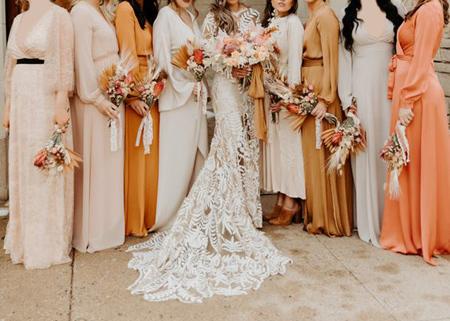 bride2 groom1 dress up4 ساقدوش عروس و داماد کیست؟ + مدل لباس ساقدوش عروس و داماد