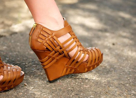 brown2 shoe2 model1 مدل کفش مجلسی قهوه ای