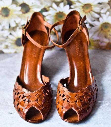 brown2 shoe2 model11 مدل کفش مجلسی قهوه ای