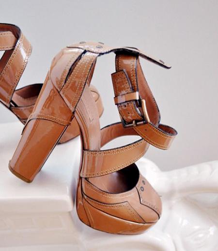 brown2 shoe2 model2 مدل کفش مجلسی قهوه ای