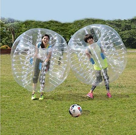 آموزش بازی فوتبال حبابی, توپ فوتبال حبابی, فوتبال حبابی