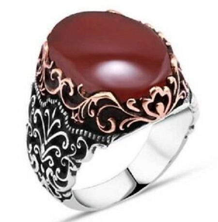 خواص انگشتر عقیق مردانه, انگشتر عقیق یمنی مردانه, انگشتر عقیق مردانه