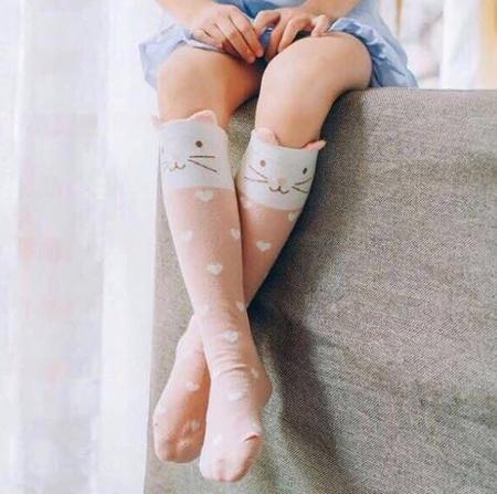 جوراب های ساق بلند جدید,جوراب ساق بلند طرح دار