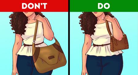 انتخاب انواع کیف,انتخاب کیف مناسب