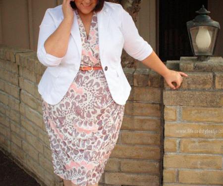coats1 skirts2 obese2 مدل کت و دامن برای افراد چاق