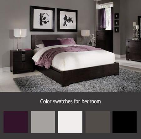color1 room1 بهترین رنگ اتاق خواب