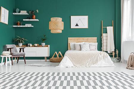 color1 room5 بهترین رنگ اتاق خواب