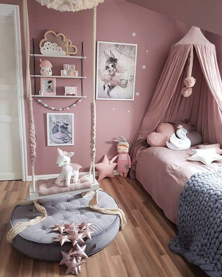 color1 room7 بهترین رنگ اتاق خواب