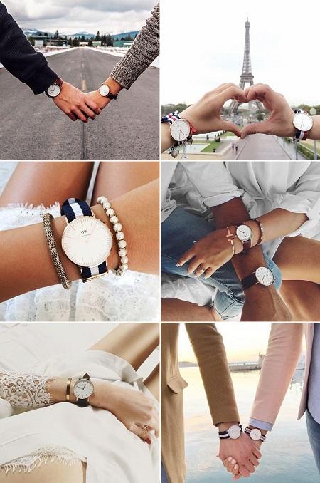 couple watch set 06 عکسهای زیبا از ست ساعت دونفره