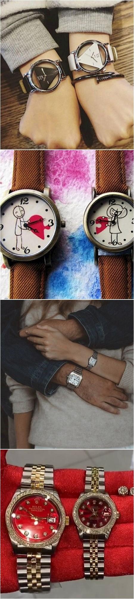 couple watch set 12 عکسهای زیبا از ست ساعت دونفره