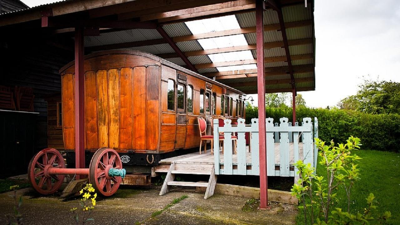 تبدیل واگن قطار قرن نوزدهم به هتلی زیبا،اخبار گوناگون،خبرهای گوناگون