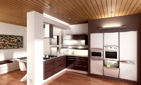 کابینت شیک آشپزخانه,دکوراسیون کابینت آشپزخانه