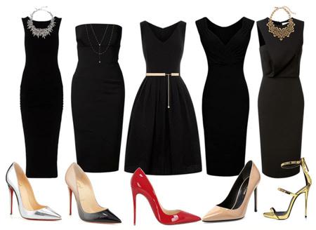 با لباس مشکی چه لاکی بزنیم,ست رنگ لاک با لباس مشکی