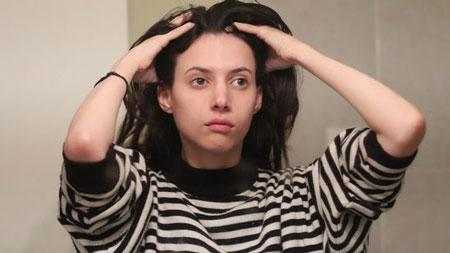 علت چرب شدن مو, علت چرب شدن موها, موهای چرب