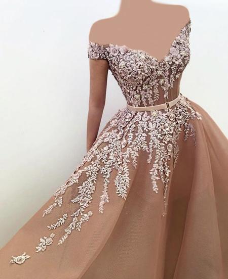 مدل لباس حنابندان,طراحی های زیبای لباس نامزدی