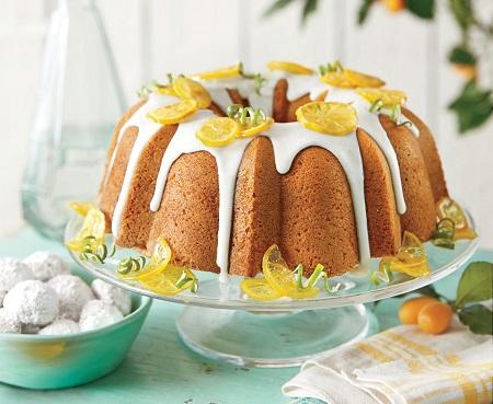 evening cake 01 طرز تهیه انواع کیک عصرانه ساده و شکلاتی