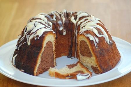 evening cake 04 طرز تهیه انواع کیک عصرانه ساده و شکلاتی