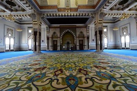 زیباترین مسجدهای جهان اسلام, سبک مساجد عثمانی, جاذبه های گردشگری دبی