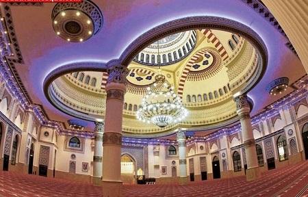جاذبه های گردشگری دبی, نمای بیرونی مسجد الفاروق, مسجد الفاروق دبی