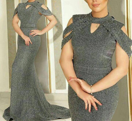 fashion1 model dress20 شیک ترین لباس های شب از جنس لمه