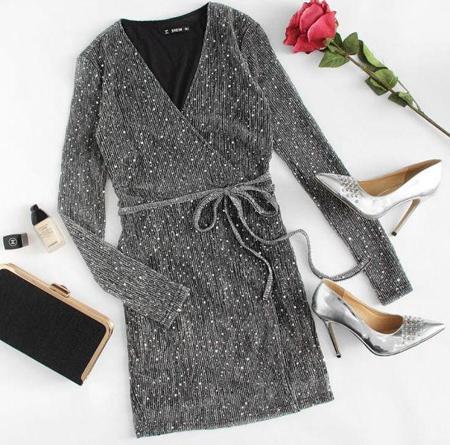 fashion1 model dress21 شیک ترین لباس های شب از جنس لمه